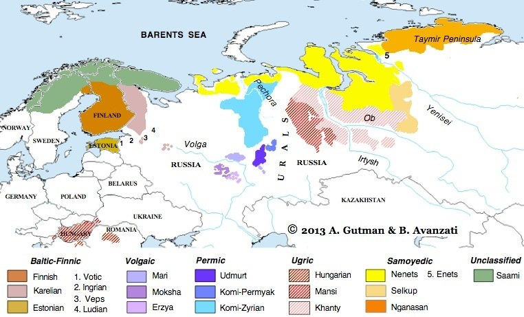 Of Russian Language In Northern 47